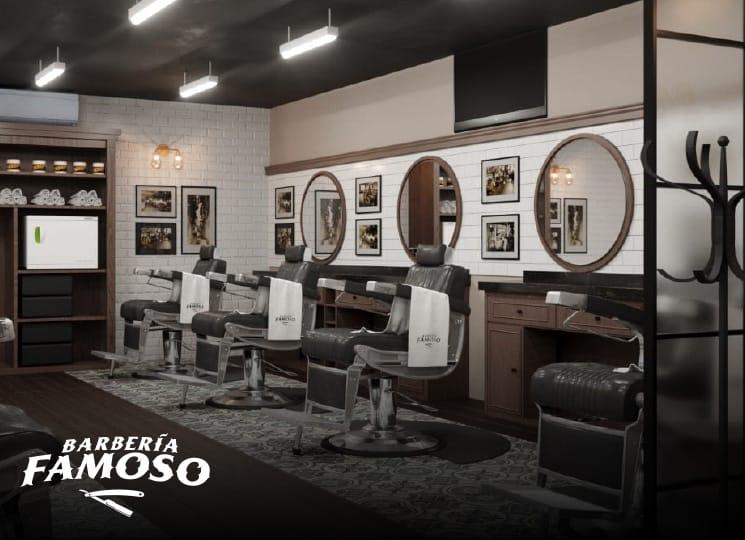 Mi franquicia - Barbería el Famoso Instalaciones