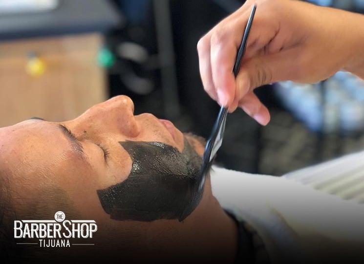 Mi franquicia - The BarberShop mascarilla para hombres